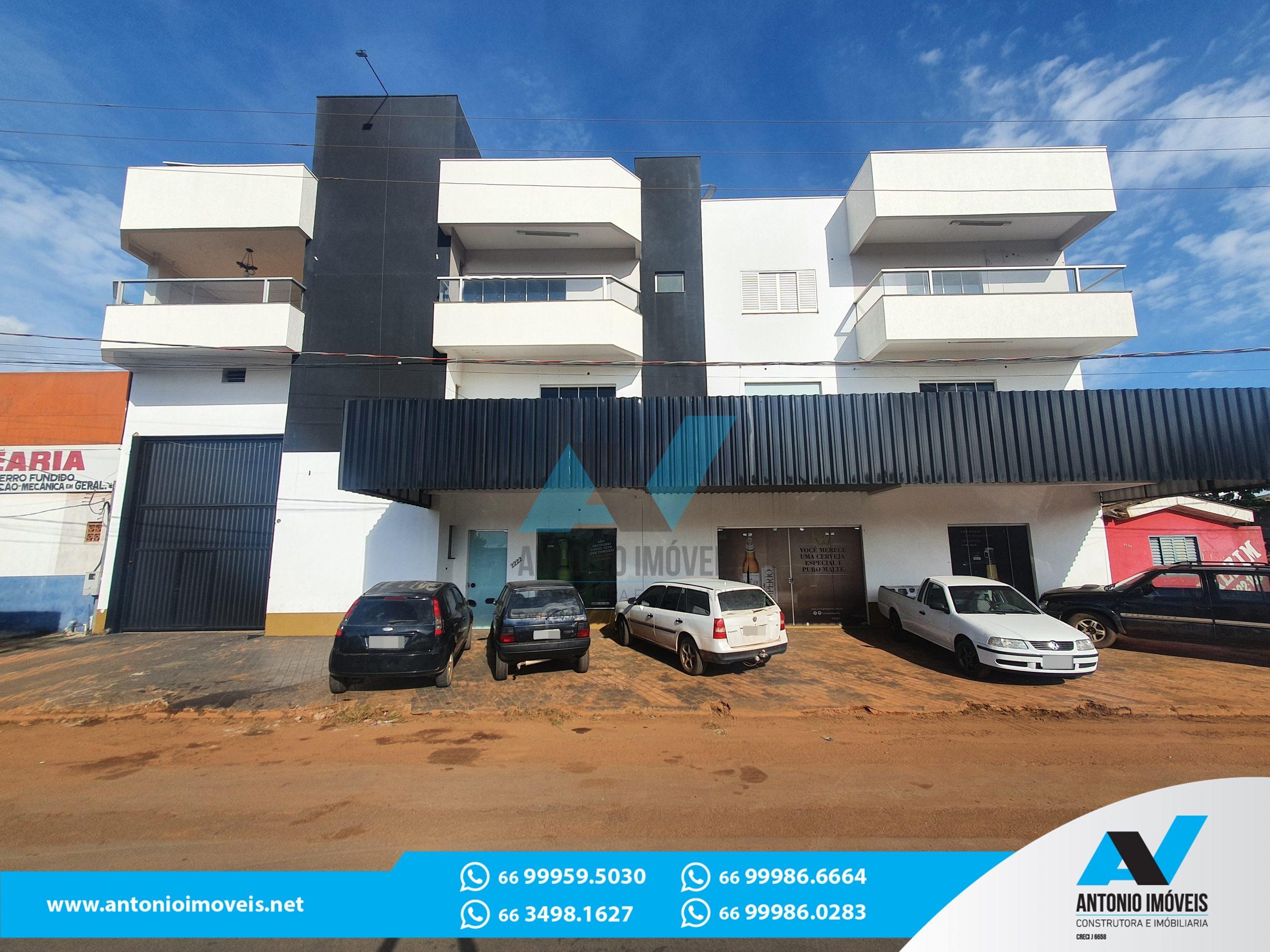 Cod. 024 – Barracão com 3 pisos frente para MT-130