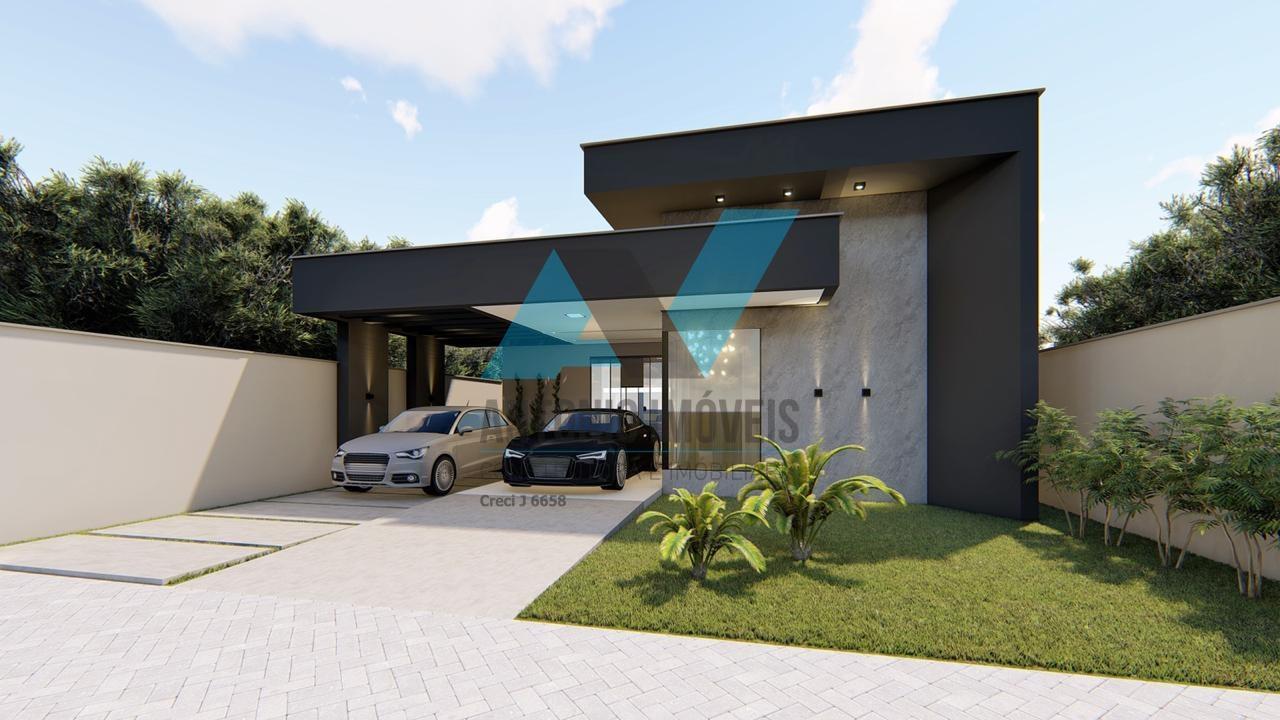 Cod. 231 – Casa com fachada Moderna no Vertente das Águas