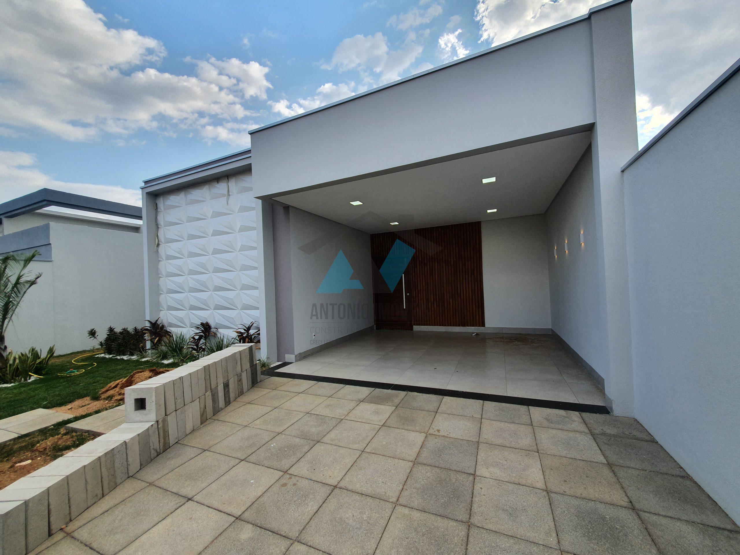 Cod. 083 – Casa em fase final de acabamento no Vertente das Águas com ótimo acabamento