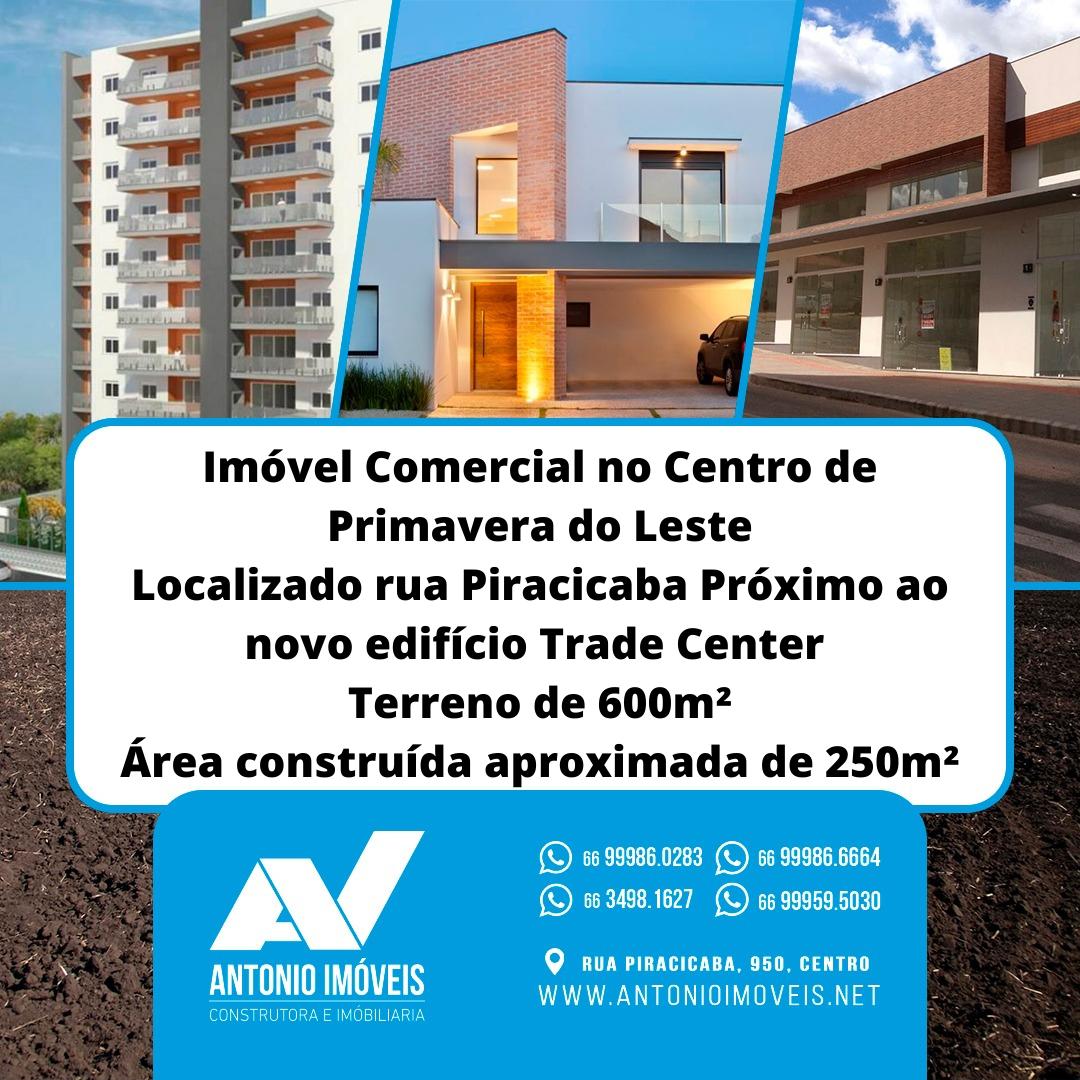 Cod. 098- Imóvel Comercial na rua Piracicaba Centro